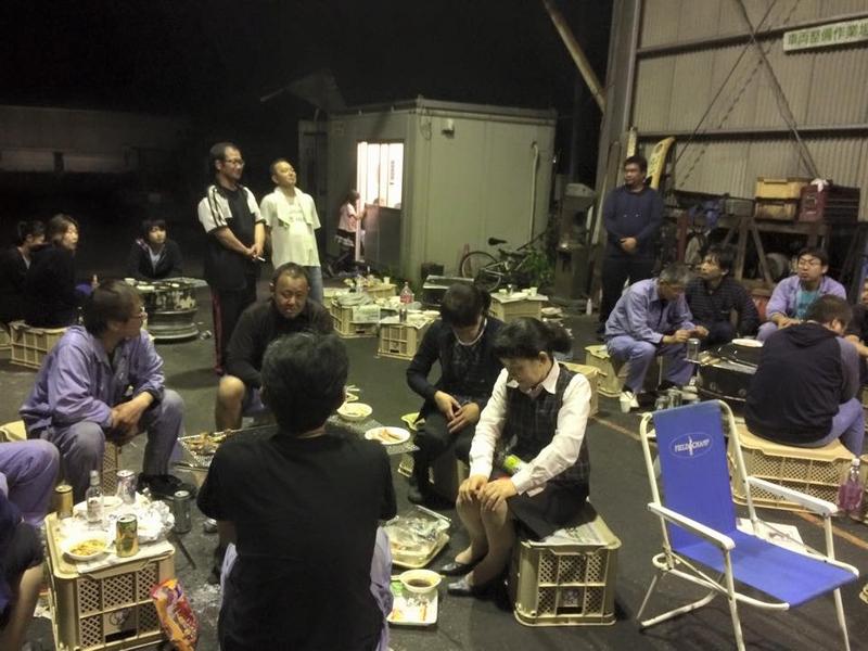 暖かくなってきたため九州錦運輸恒例の社員焼肉大会を開催しました!